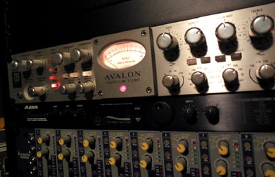 Outboard recording equipment.