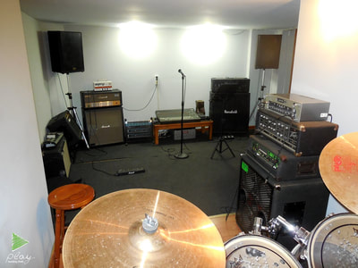 The third room of the studio. The name is Live room 3/Rehearsal.